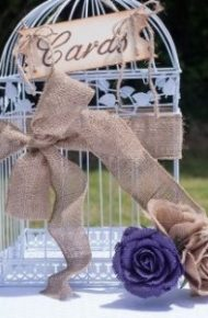 Rustic Wedding at Lions Lodge with Burlap