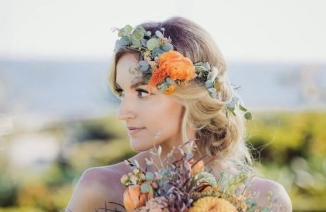 fall flower crown ideas and inspiration boho brides
