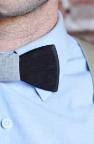 9 Wood Bow Ties That Actually Look Pretty Cool for Weddings