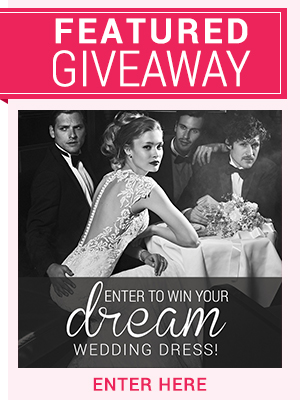 Enter to win a Justin Alexander Wedding Dress Giveaway