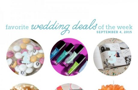 Wedding Deals: September 4, 2015